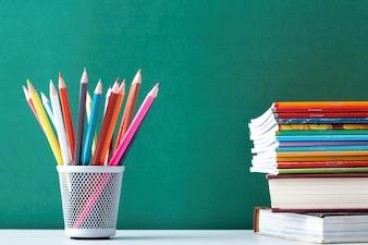 Schulbedarf für Studenten