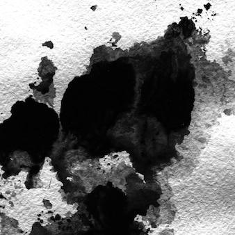 Silhouette Felsen Papier Tinte Tapete Japan