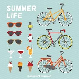 Sommer Lebenselemente