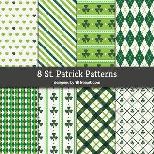 St Patrick Muster Sammlung