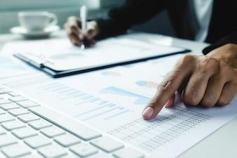 Statistik Präsentation Wirtschaft Arbeitsplätze professionellen Gewinn