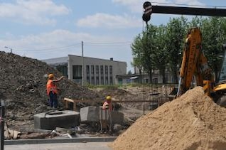 Straßenbau, Arbeiten