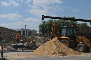 Straßenbau, Job