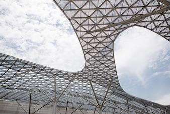 Strukturelle Glasdecke