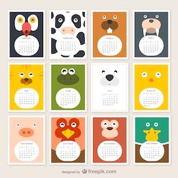 Tierkalender 2015