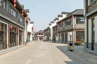 Typische Dorfstraße