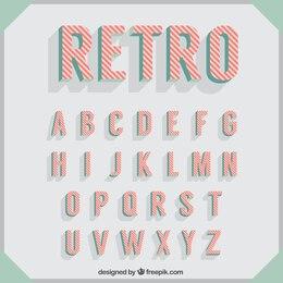 Typografie im Retro-Stil