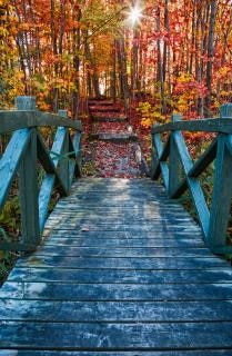 überbrücken zu fallen