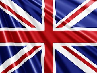 Union Jack Flagge Hintergrund