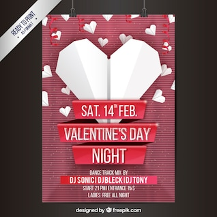 Valentine Party Poster