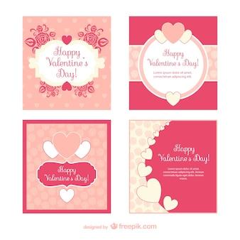 Valentinstag-Karten-Pack