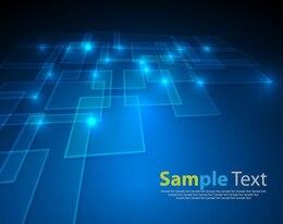 Vektor abstrakte blauem Hintergrund
