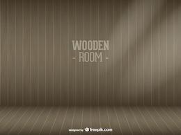 Vektor Holz Zimmer kostenloser Download