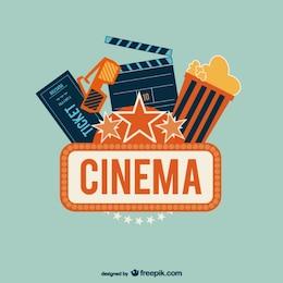 Vektor-Kunst-Kino