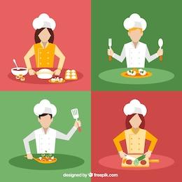 Vielfalt der Köche