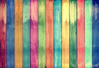 Vintage bunten Holz Hintergrund