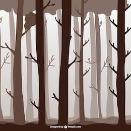 Waldbäume Abbildung