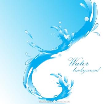 Wasser freien Hintergrund