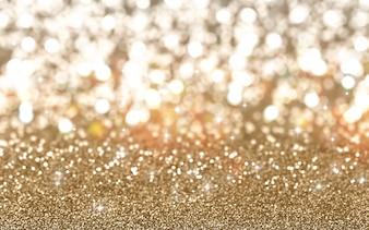 Weihnachten Hintergrund der glitzernde Gold-Glitter