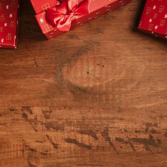 Weihnachten Hintergrund mit Platz am Boden