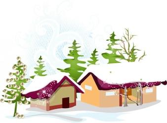 Weihnachtsbaum Vector