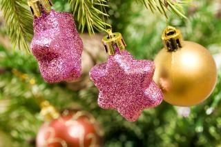 Weihnachtsdekoration, Ball, pulsierenden