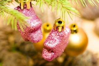 Weihnachtsdekoration, fröhlich