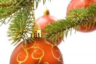 Weihnachtsdekoration yule Dekor Hintergrund