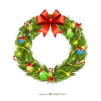 Weihnachtsgirlande Darstellung