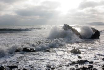 Wellen brechen