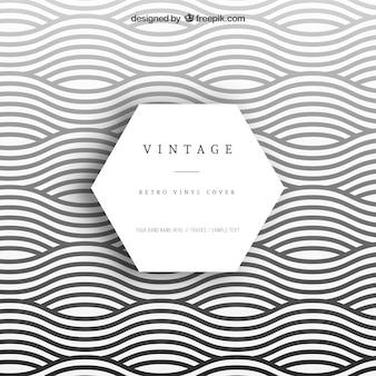 Wellenförmige Vinylabdeckung