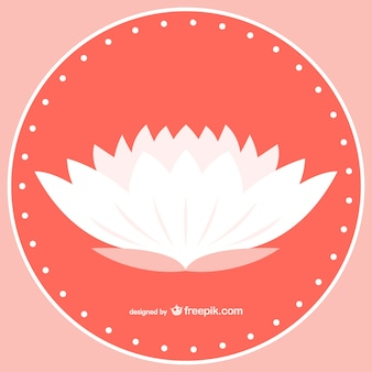 White Lotus Vektor