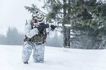 Winter arktischen Krieg
