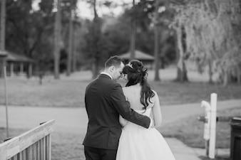 Wundervoller Hochzeitstag