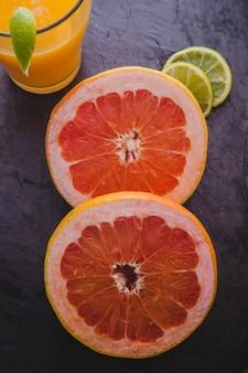 Zitrusfrucht Zusammensetzung