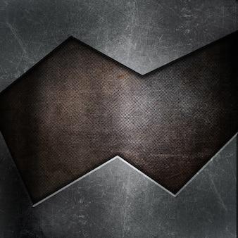 Zusammenfassung Hintergrund mit Grunge Metall Textur