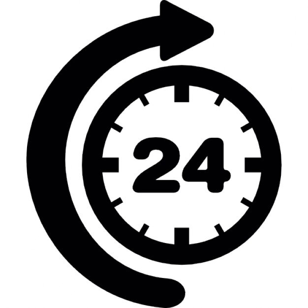 24 Hour Clock Vectors, Photos and PSD files   Free Download