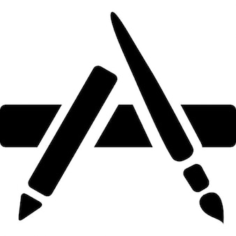App store Apple symbol
