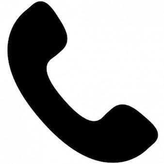 耳介の携帯電話