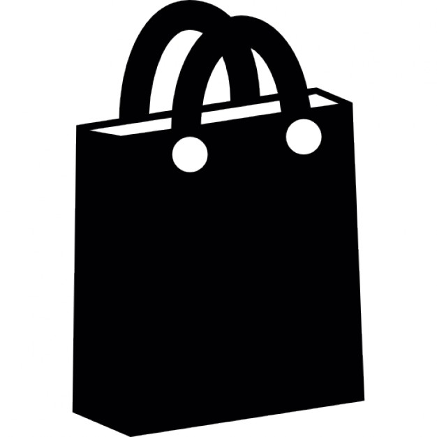 Bag of paper for shopping