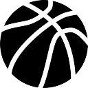 Ball of basketball