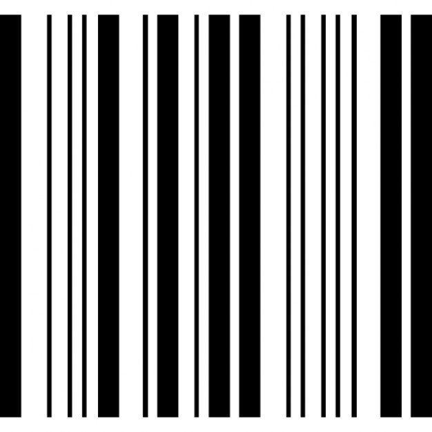 Barcode of square shape