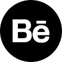 Behance Logo Button