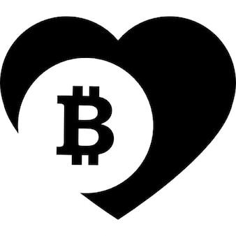 Bitcoin love heart