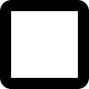 空白の正方形