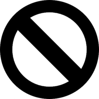 Not allowed symbol Icons   Free Download