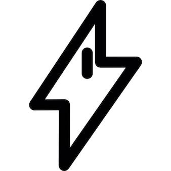 Bolt shape, IOS 7 interface symbol