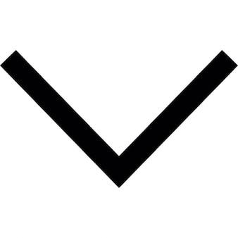 Bottom, IOS 7 interface symbol