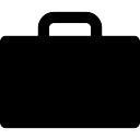 Portfolio, suitcase, IOS 7 interface symbol Icons | Free ...