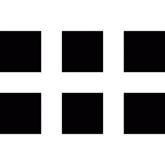 正方形のボタン